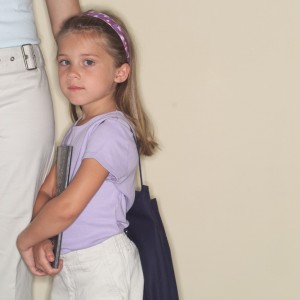 Little Girl Ready for School