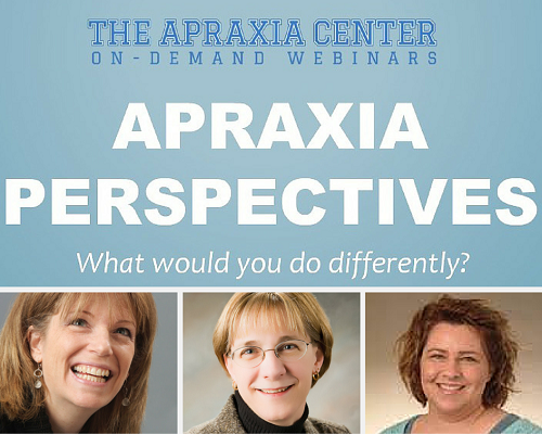 apraxia perspectives email graphic