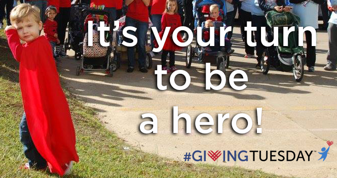 Giving Tuesday Donation Confirmation - Red Cape Rectangular