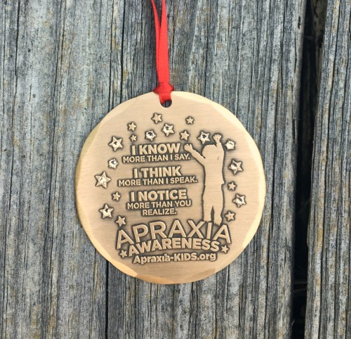 Apraxia Ornament