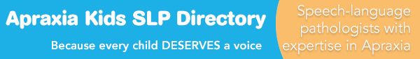 Apraxia Kids SLP Directory Banner