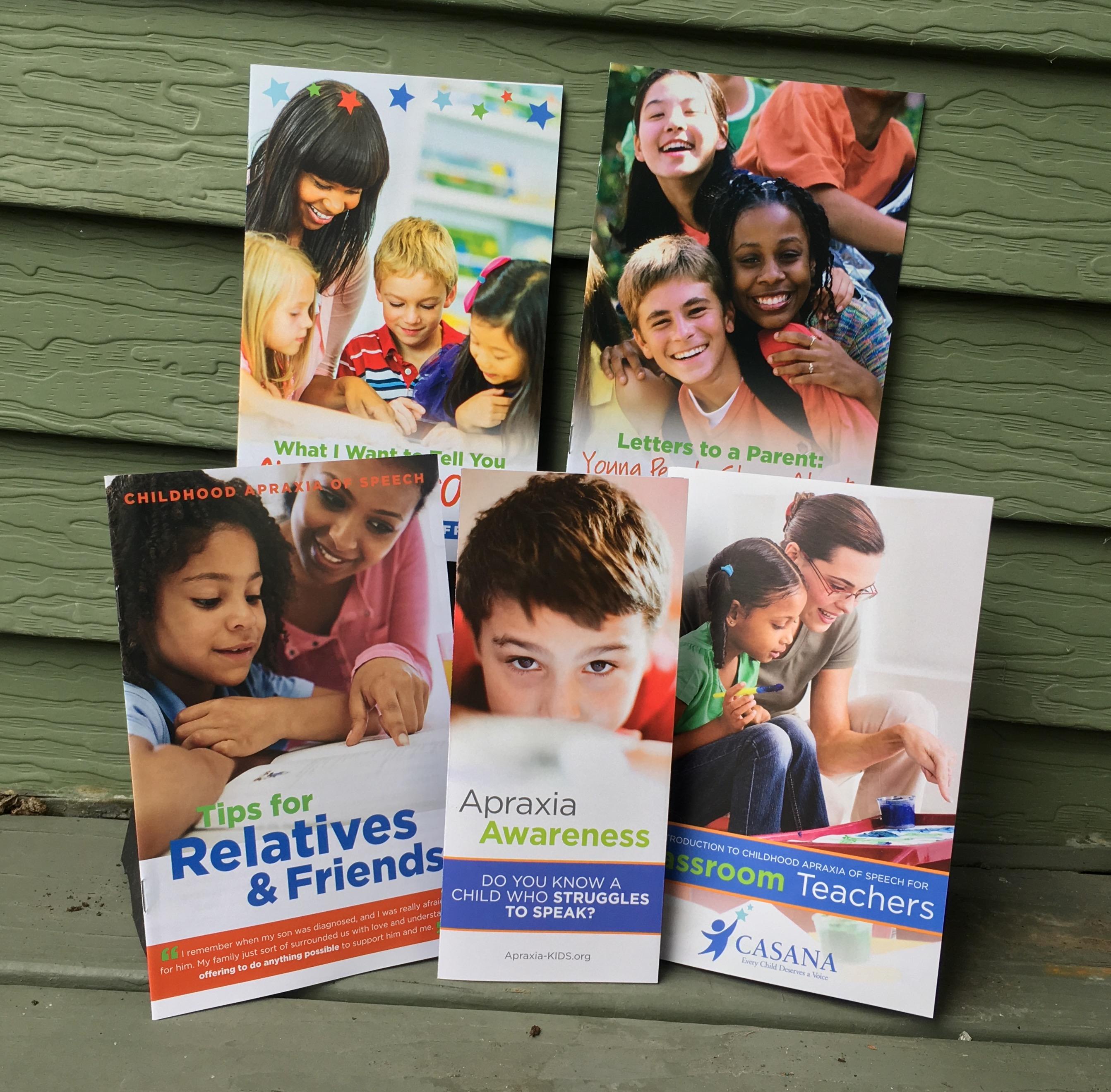2017 Apraxia Awareness Day Materials