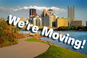we're moving