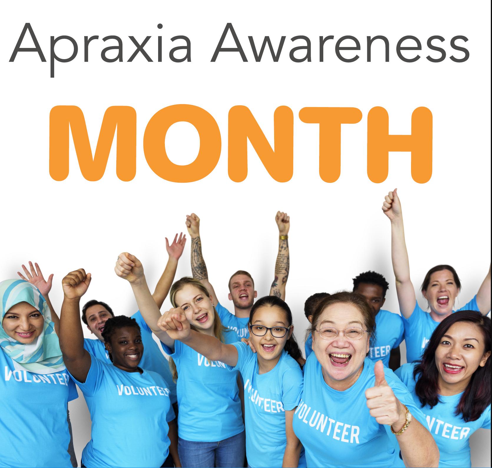Apraxia Awareness Month
