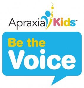Apraxia Kids Be the Voice Logo
