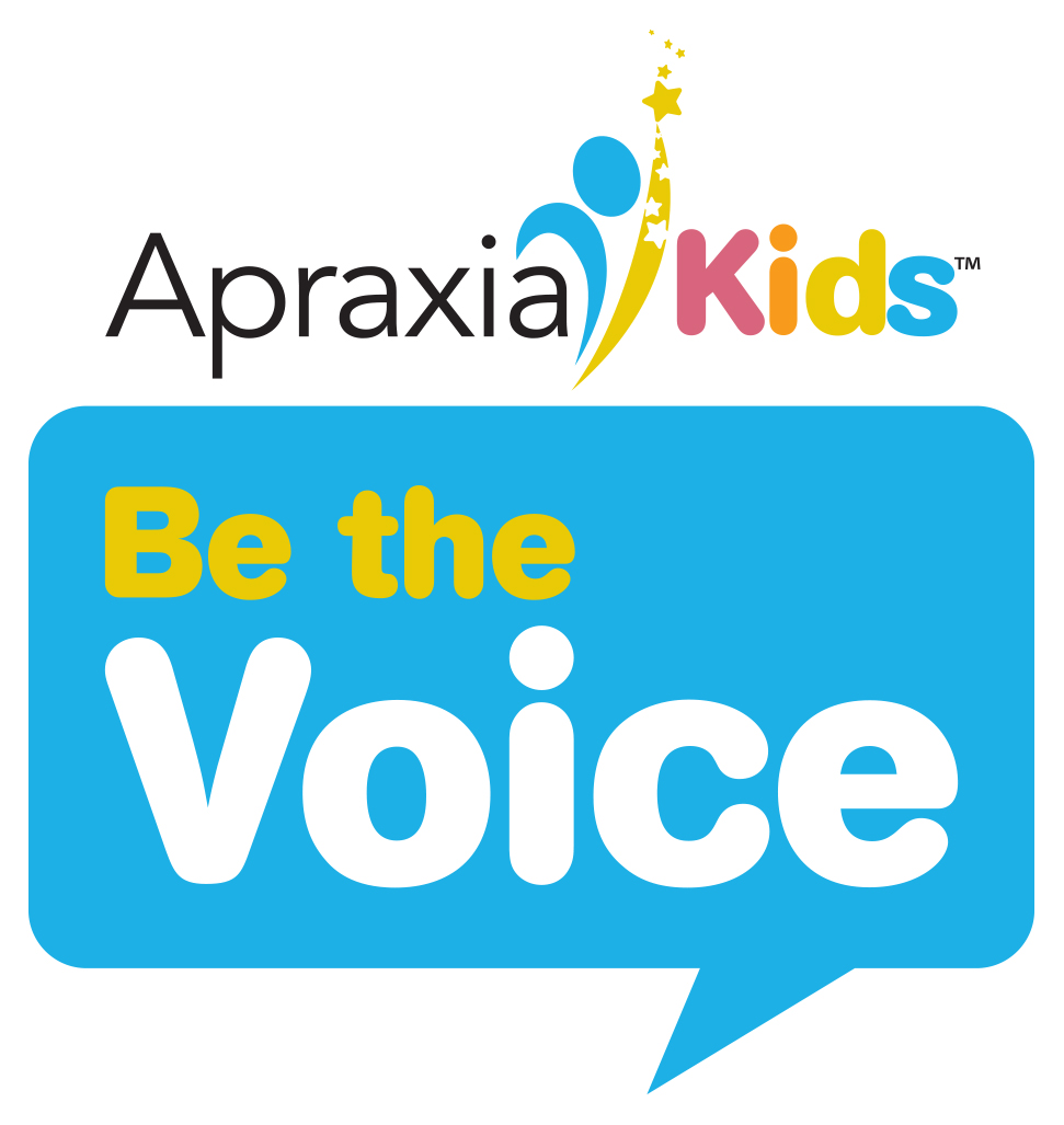 Apraxia Kids Be the Voice Logo