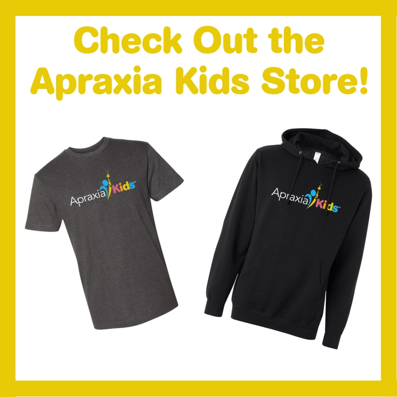 Check Out the Apraxia Kids Store!