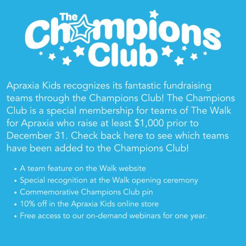 July Walk Newsletter - Champions Club